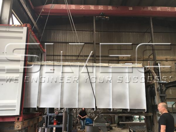 carbonization-furnace-loading